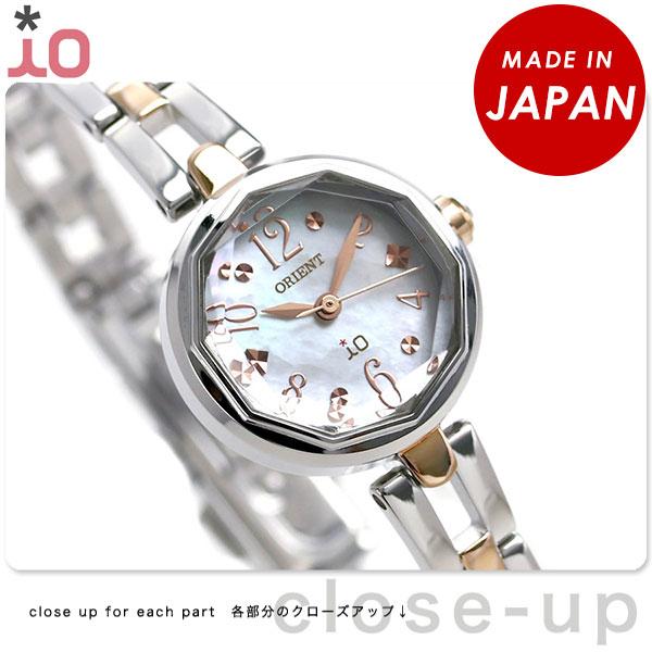 オリエント 腕時計 レディース ORIENT イオ スイートジュエリー2 iO WI0191WD ソーラー 時計【あす楽対応】