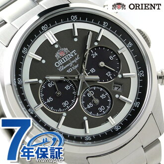 Orient ORIENT watch neo seventies WV0011TX solar chronograph