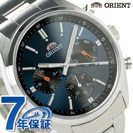 【20日はさらに+9倍で店内ポイント最大42倍】 オリエント 腕時計 メンズ ORIENT ネオセブンティーズ パンダ マルチファンクション WV0021UZ 時計【あす楽対応】