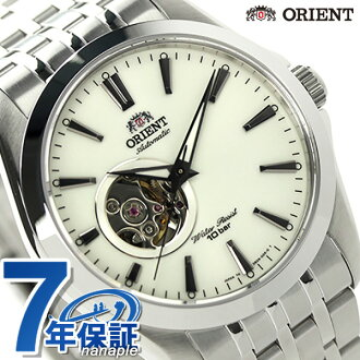 Orient automatic winding world stage collection mens WV0381DB ORIENT watch open heart white