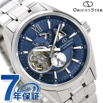 东方明星Orient Star当代标准现代的骨架人手表自动卷WZ0191DK功率留出