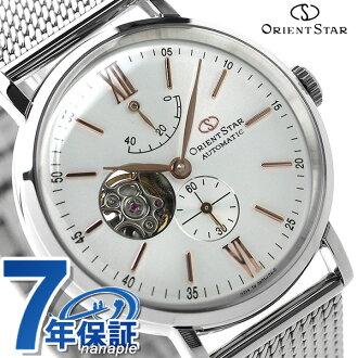 東方明星古典骨架自動卷手錶WZ0311DK Orient Star銀子