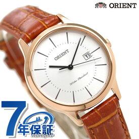 オリエント コンテンポラリー レディース 腕時計 RH-QA0001S ORIENT 時計 ホワイト×ブラウン【あす楽対応】