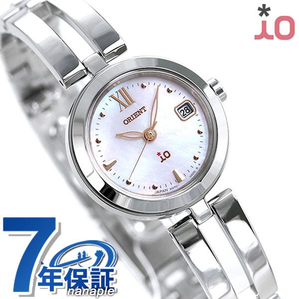 オリエント 腕時計 ORIENT イオ ナチュラル&プレーン 24mm ソーラー RN-WG0003S ピンクシェル 時計【あす楽対応】