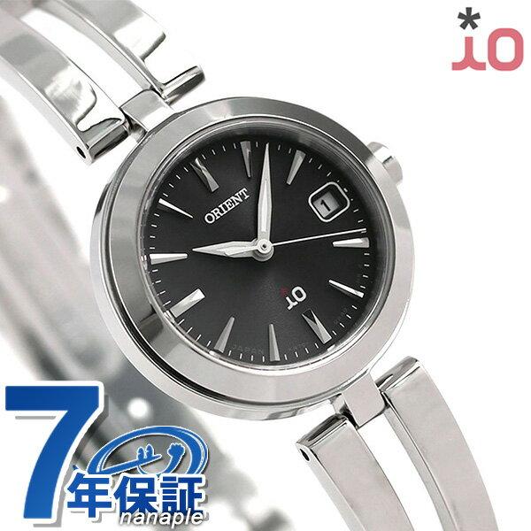 オリエント 腕時計 ORIENT イオ ナチュラル&プレーン 24mm ソーラー RN-WG0004B ブラック 時計【あす楽対応】