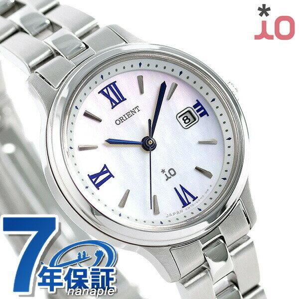 オリエント 腕時計 ORIENT イオ ナチュラル&プレーン ソーラー RN-WG0007A レディース ホワイトシェル 時計【あす楽対応】