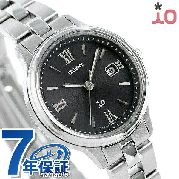 オリエント 腕時計 ORIENT イオ ナチュラル&プレーン ソーラー RN-WG0008B レディース ブラック 時計【あす楽対応】