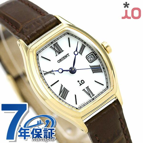 オリエント 腕時計 レディース ORIENT 日本製 ソーラー イオ ナチュラル&プレーン トノー RN-WG0013S 革ベルト 時計【あす楽対応】