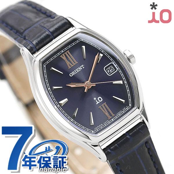 オリエント 腕時計 レディース ORIENT 日本製 ソーラー 限定モデル イオ ナチュラル&プレーン トノー RN-WG0015L 革ベルト 時計【あす楽対応】
