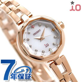 オリエント 腕時計 レディース ORIENT イオ スイートジュエリー2 iO WI0201WD ソーラー 時計【あす楽対応】