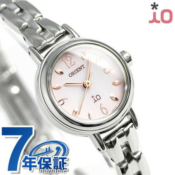 オリエント 腕時計 レディース ORIENT イオ フラワー ソーラー WI0431WD ピンクグラデーション 時計【あす楽対応】
