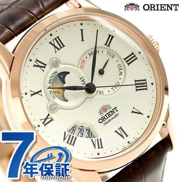 オリエント 腕時計 ORIENT ワールドステージコレクション サン&ムーン WV0371ET オフホワイト 時計