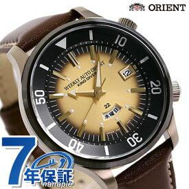 【今なら3,000円割引クーポンにポイント最大35倍】 オリエント リバイバル キングダイバー 70周年 復刻 限定モデル メンズ 腕時計 RN-AA0D14G ORIENT 革ベルト 時計【あす楽対応】