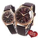 【10日は全品5倍以上で店内ポイント最大54倍】 ペアウォッチ ヘンリーロンドン レザーベルト 腕時計 HENRY LONDON 時計