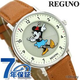 【15日なら全品5倍以上!店内ポイント最大37倍】 シチズン レグノ Disneyコレクション ミニーマウス KP3-112-12 CITIZEN ディズニー メンズ レディース 腕時計 革ベルト 時計【あす楽対応】