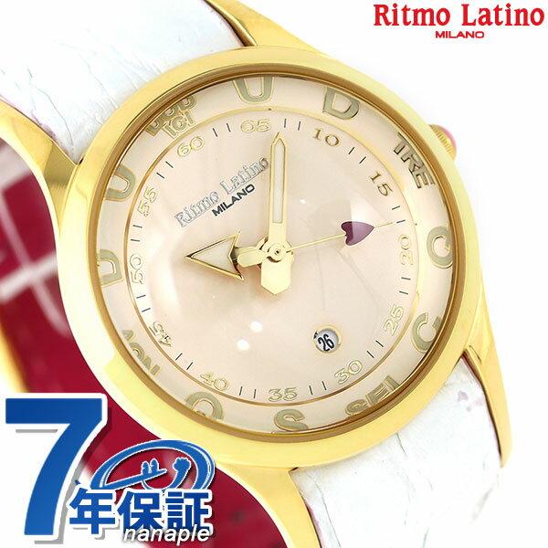 リトモラティーノ フィーノ 35mm レディース 腕時計 F-22DBYG Ritmo Latino 時計