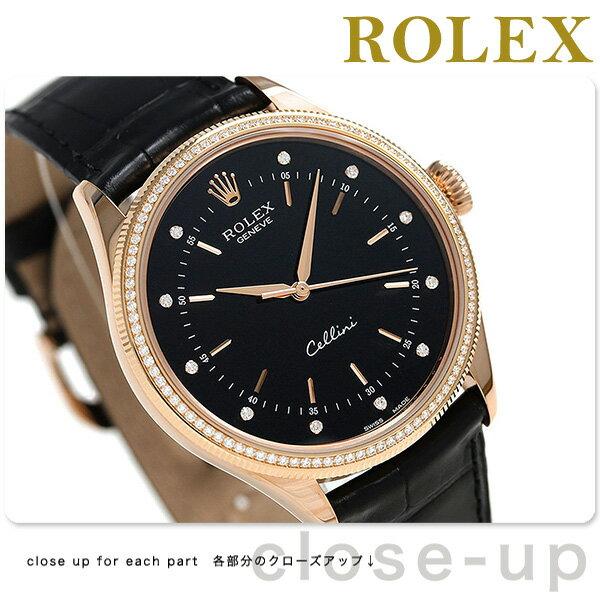 ロレックス チェリーニ タイム 39 自動巻き ダイヤモンド ROLEX 50605RBR 腕時計 新品 時計【あす楽対応】