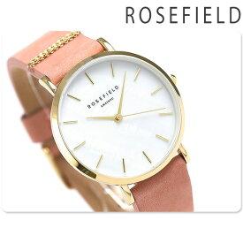 15日なら全品5倍以上で店内ポイント最大42倍! ROSEFIELD ローズフィールド ウエストビレッジ 33mm レディース 腕時計 Westvillage 革ベルト 時計