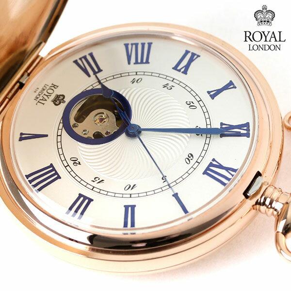 ロイヤルロンドン 懐中時計 手巻き 90051-03 ROYAL LONDON ポケットウォッチ 時計
