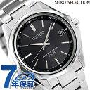 【25日なら全品5倍以上!店内ポイント最大46倍】 セイコー 日本製 電波ソーラー メンズ 腕時計 SBTM241 SEIKO ブラッ…