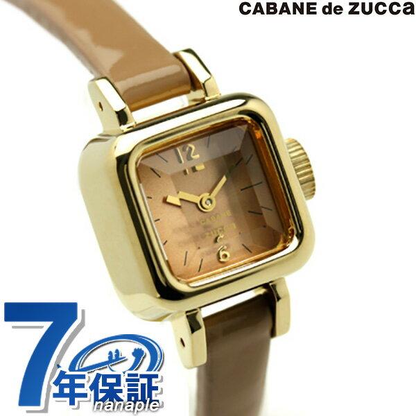 ズッカ キャラメル CABANE de ZUCCa カバン ド ズッカ 腕時計 キャラメル AWGP005 キャラメル 時計【あす楽対応】