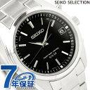 セイコー 電波 ソーラー 腕時計 スピリット ブラック SBTM159 SEIKO SPIRIT