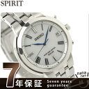 セイコーセレクション 電波ソーラー メンズ 腕時計 SBTM183 SEIKO ホワイト