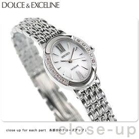 セイコー ドルチェ&エクセリーヌ ソーラー レディース SWCQ047 SEIKO DOLCE&EXCELINE 腕時計 ホワイト 時計