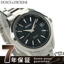 セイコー ドルチェ 電波ソーラー コンフォテックス チタン SADZ177 SEIKO DOLCE&EXCELINE メンズ 腕時計 ブラック 時計