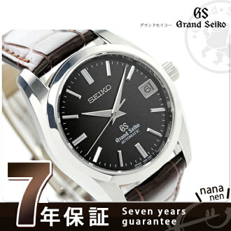 SBGR089 ground SEIKO self-winding watch men watch GRAND SEIKO dark brown leather belt