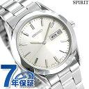 セイコー スピリット メンズ 腕時計 SCDC083 SEIKO SPIRIT シルバー 時計