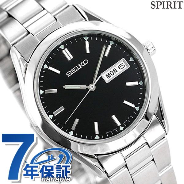 セイコー スピリット メンズ 腕時計 SCDC085 SEIKO SPIRIT ブラック 時計【あす楽対応】
