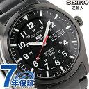 セイコー 逆輸入 海外モデル 5 スポーツ 日本製 SNZG17J1(SNZG17JC) SEIKO 自動巻き メンズ 腕時計 オールブラック