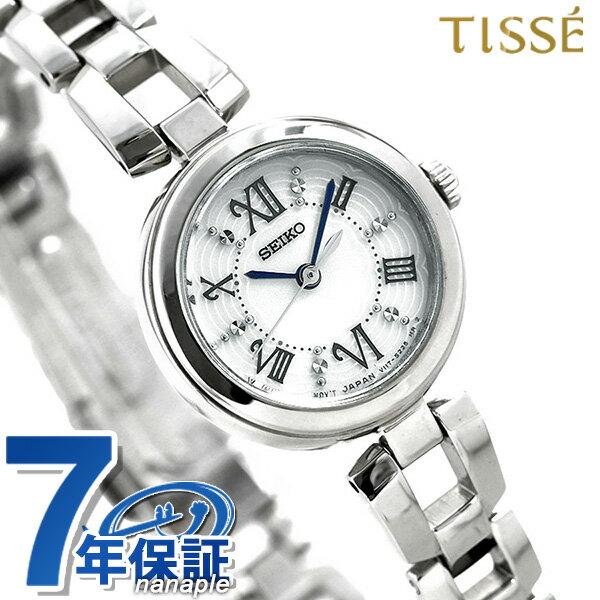 セイコーセレクション ソーラー レディース 腕時計 SWFA151 SEIKO シルバー