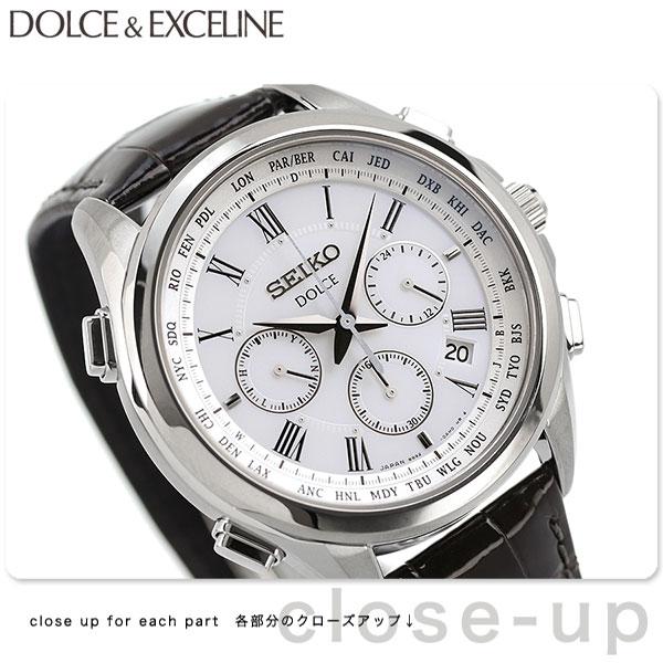【1000円割引クーポン 20日9時59分まで】 セイコー ドルチェ フライト エキスパート クロノグラフ SADA039 SEIKO DOLCE&EXCELINE 腕時計