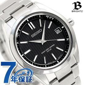 【今ならポイント最大27倍】 セイコー ブライツ 7B24 スターティング ソーラー電波 SAGZ083 SEIKO BRIGHTZ 腕時計 チタン 時計