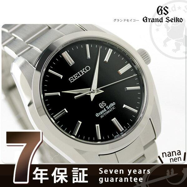 【当店なら!さらにポイント+4倍 25日10時〜】SBGR101 グランドセイコー メカニカル メンズ GRAND SEIKO 腕時計 ブラック 時計