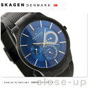 スカーゲン SKAGEN 腕時計 Performance Driven マルチファンクション チタン メンズ ブルー 809XLTBN