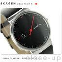 スカーゲン アンカー クオーツ メンズ 腕時計 SKW6236 SKAGEN ブラック