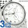 스카겐안카크로노그라후멘즈 손목시계 SKW6231 SKAGEN 화이트