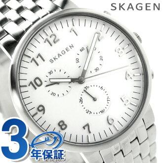 Scar gene anchor chronograph men watch SKW6231 SKAGEN white