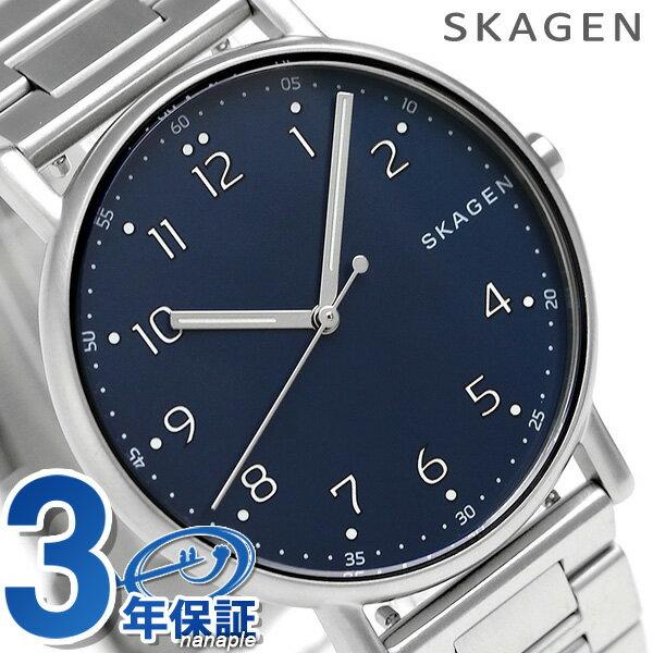 【エントリーだけでポイント3倍 27日9:59まで】 スカーゲン メンズ シグネチャー 40mm クオーツ 腕時計 SKW6357 SKAGEN 時計