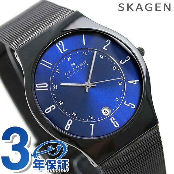 【エントリーだけでポイント3倍 27日9:59まで】 スカーゲン メンズ SKAGEN 腕時計 チタニウム T233XLTMN 時計