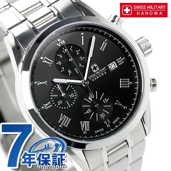 スイスミリタリー SWISS MILITARY メンズ ローマン クロノグラフ ML-346 腕時計 時計