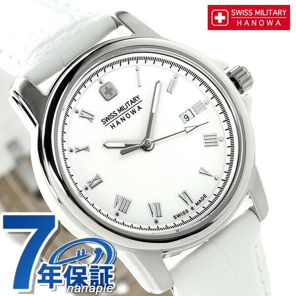 スイスミリタリー ローマン レディース 腕時計 ML-410 SWISS MILITARY ホワイト 時計【あす楽対応】