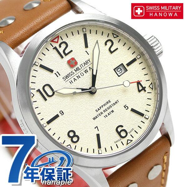 スイスミリタリー アンダーカバー 42mm メンズ 腕時計 ML427 SWISS MILITARY アイボリー 時計