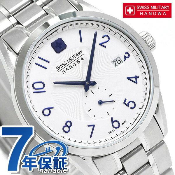スイスミリタリー クラス 38mm クオーツ メンズ 腕時計 ML431 SWISS MILITARY ホワイト 時計【あす楽対応】
