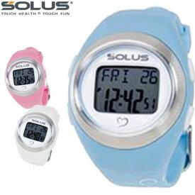5c8c988e8c 店内ポイント最大44倍】 SOLUS ソーラス 腕時計 スポーツ 健康 ウォーキング
