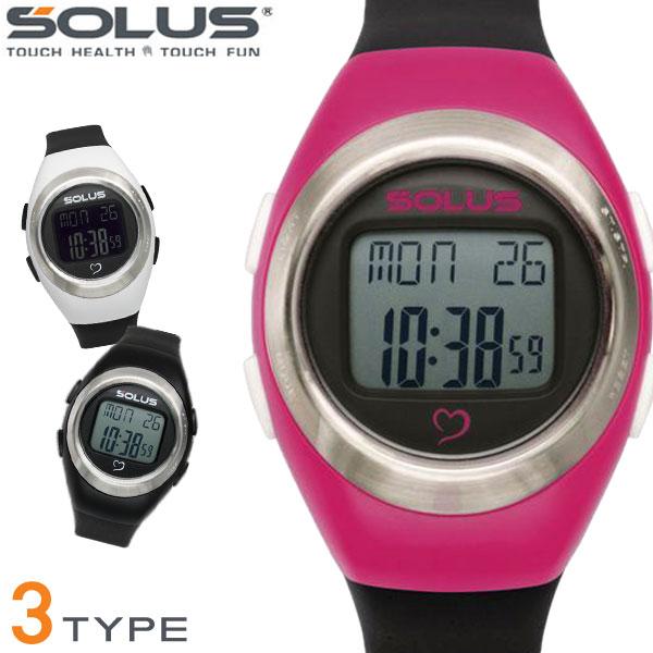 SOLUS ソーラス スポーツ 健康 ウォーキング 消費カロリー 心拍数測定 Leisure800 全4色 01-800