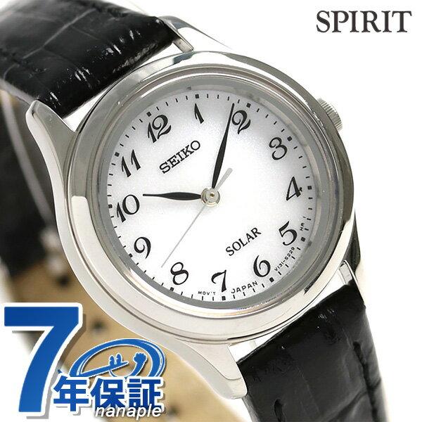 【当店なら!さらにポイント+4倍 25日10時〜】セイコー スピリット ソーラー レディース 腕時計 STPX037 SEIKO SPIRIT シルバー×ブラック 時計